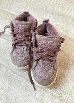 Крутые осенние ботинки для девочки soulcal & co california