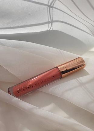 Блеск для губ nude - номер 02 розовый шелк