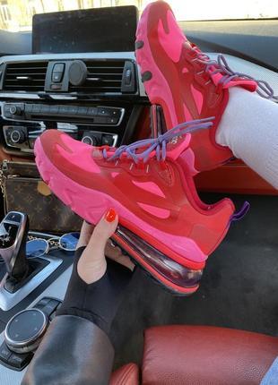 ❤️ женские кроссовки nike air max 270 react