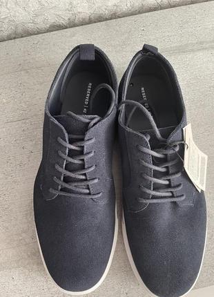 Туфли замша reserved 42