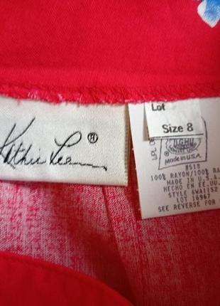 Яркая юбка с имитацией запаха сша2 фото