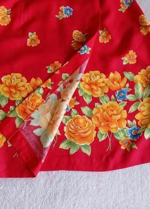 Яркая юбка с имитацией запаха сша3 фото
