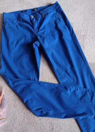 Яркие брюки большого размера батал