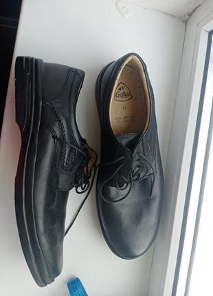Ультралегкие мега комфортные мужские туфли  gallus  ручная работа полностью натуральная кожа