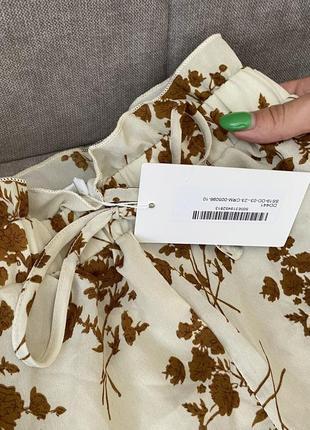 Шикарные шорты в цветочный принт с оборками in the style2 фото