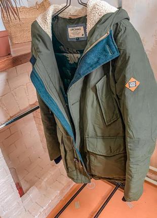 Мужская куртка, зимняяя куртка originals jack&jones