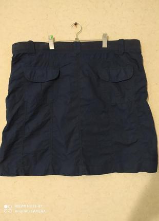 Лёгкая натуральная котоновая юбка
