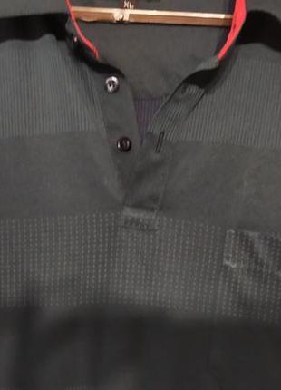 Рубашка поло красивого темно синего цвета