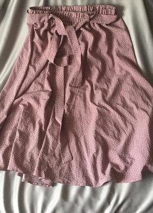 Спідниця юбка в горошок