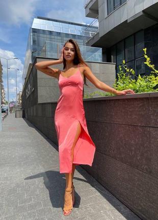 Шелковое платье (все расцветки)
