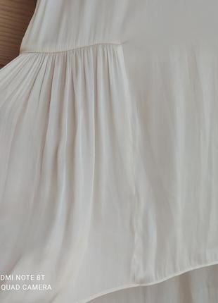 Легкая атласная блуза от h&m3 фото