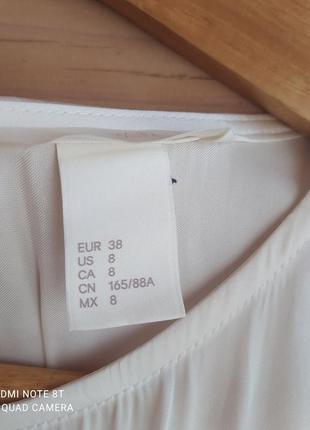 Легкая атласная блуза от h&m4 фото