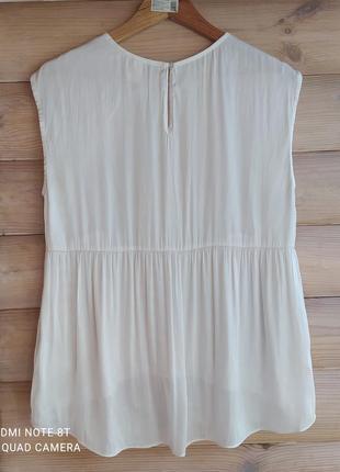 Легкая атласная блуза от h&m2 фото