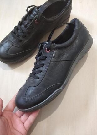Шкіряні туфлі від бренду ecco