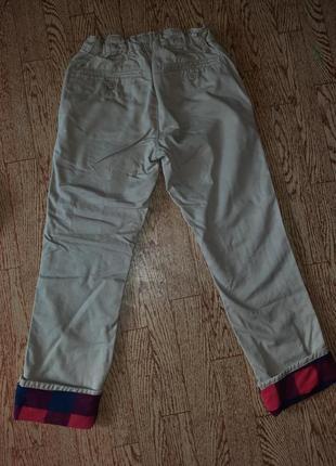 Рубашка фланель + брюки gap набор7 фото