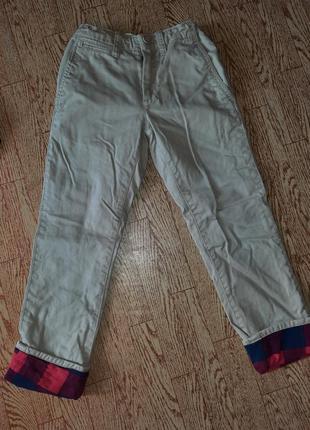 Рубашка фланель + брюки gap набор4 фото