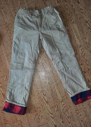 Рубашка фланель + брюки gap набор5 фото