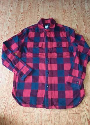 Рубашка сорочка фланель gap