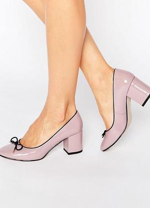 Лаковые туфли asos,р-р 42