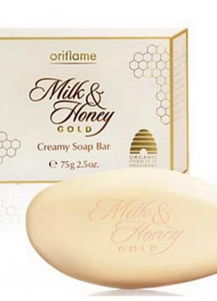 Крем-мыло «молоко и мед – золотая серия»1