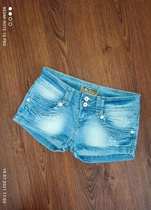 Шорты женские 26 р. шорты джинсовые. шортики