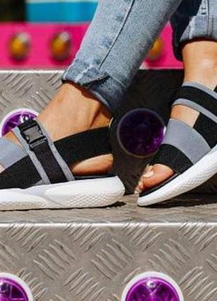 Спортивные босоножки,сандалии резинка, 36 37 38 39 размер, маломерят