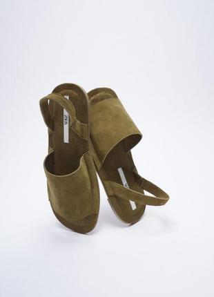 🌸 кожаные босоножки от zara 🌸