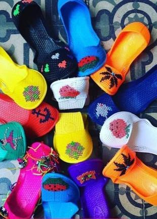 Мыльницы силиконовые пляжная обувь