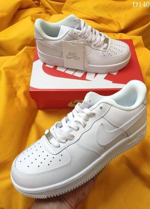 Nike air force white (белые) кроссовки