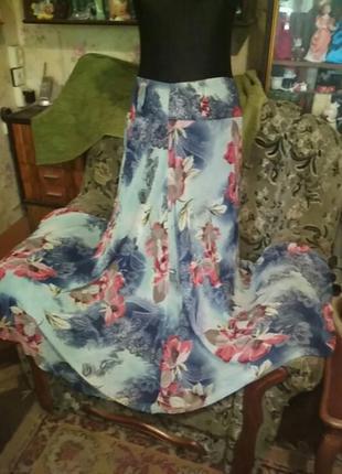 Красивая длинная летняя юбка. производство турция.