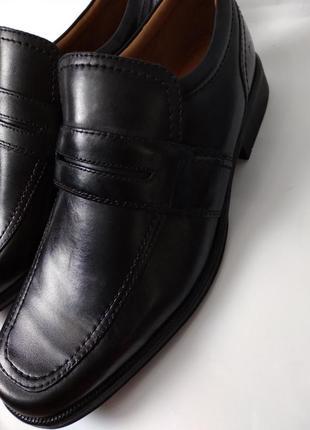 Кожаные мужские туфли clarks, оригинал, размер 41