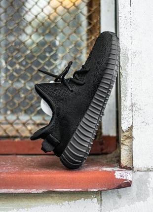 Кроссовки adidas yeezy v2, black no reflective