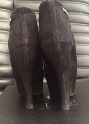 Ботинки glossi, натуральный замш