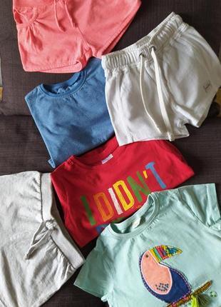 Пакет вещей для девочки 1,5-2 года