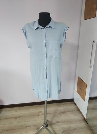 Новое платье-рубашка, длинная рубашка