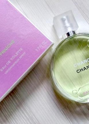 Chanel chance eau fraiche оригинал_eau de toilette 5 мл затест