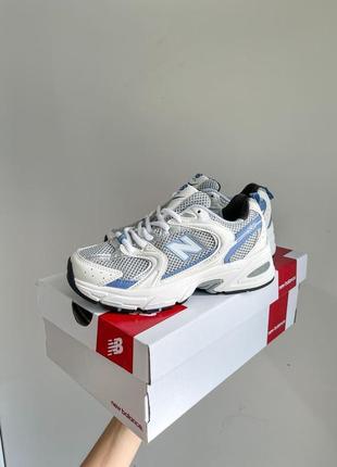New balance 530 lilipo кроссовки женские голубые
