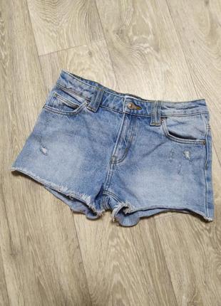 Zara джинсовые шорты
