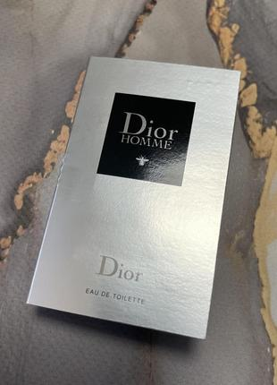 Туалетная вода пробник оригинал диор dior homme