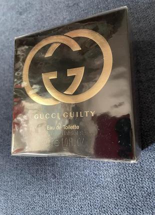 Gucci guilty (оригинал) 30 ml