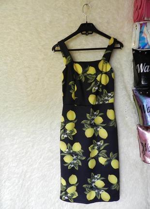 ✅ красивое платье лимончики есть затяжка