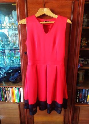 Плаття червоне в стилі бебі дол