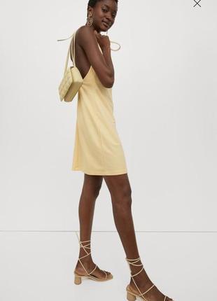 Новое платье h&m conscious, размер м