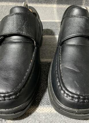 Мужские туфли hobos ( хобос 45рр идеал оригинал черные)