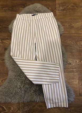 Шикарные легкие штаны кюлоты zara