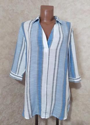 Легкая рубашка в полоску