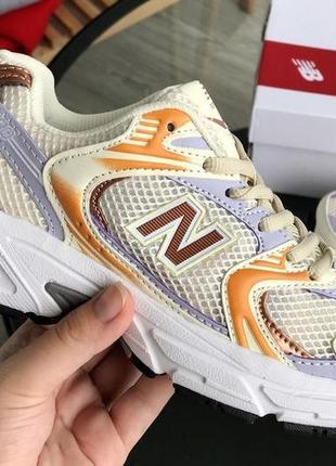 Стильные женские спортивные кроссовки new balance 530