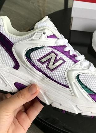Женские стильные спортивные кроссовки new balance 530