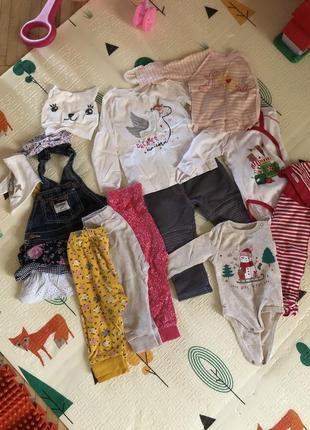 Пакет речей вещей 3-6 міс ціна за все на дівчинку девочку waikiki