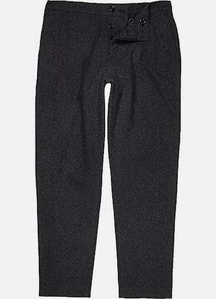 Брендовые модные шерстяные штаны брючки от river island